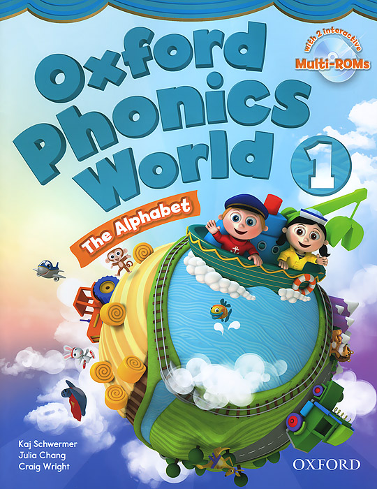 Фото - Oxford Phonics World 1: The Alphabet (+ CD-ROM) oxford reading tree songbirds alphabet games flashcards