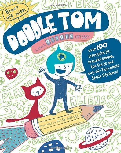 Blast Off with Doodle Tom: A Space Doodle-Odyssey