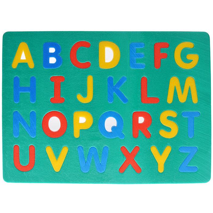 Мягкая мозаика Флексика Английский алфавит пазлы апплика мозаика мягкая алфавит английский из самоклеящегося мягкого пластика eva