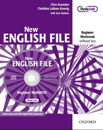 New English File: Beginner: Workbook with MultiROM Pack latham koenig christina oxenden clive byrne tracy new eenglish file intermediate workbook with key and multirom pack