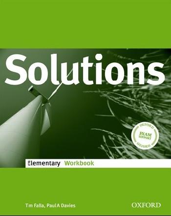 Solutions Elementary: Workbook upstream elementary a2 workbook