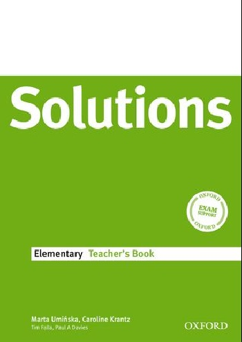 Solutions Elementary: Teachers Book