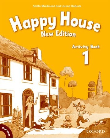 Happy House: British English course for Primary: 1 New Edition: Activity Book and MultiROM Pack happy trails 2 activity book