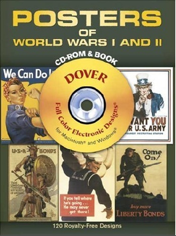 Posters of World Wars I and II CD-ROM and Book zhou jianzhong ред oriental patterns and palettes cd rom