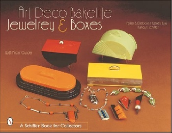 Art Deco Bakelite Jewelry & Boxes cubism