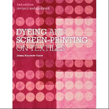 Dyeing and Screen-Printing on Textiles on a chinese screen