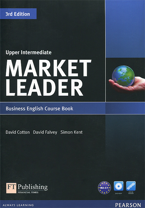 Market Leader: Upper-Intermediate: Course Book (+ DVD-ROM) brook hart g clark d business benchmark 2nd edition upper intermediate bulats and business vantage teacher s resource book