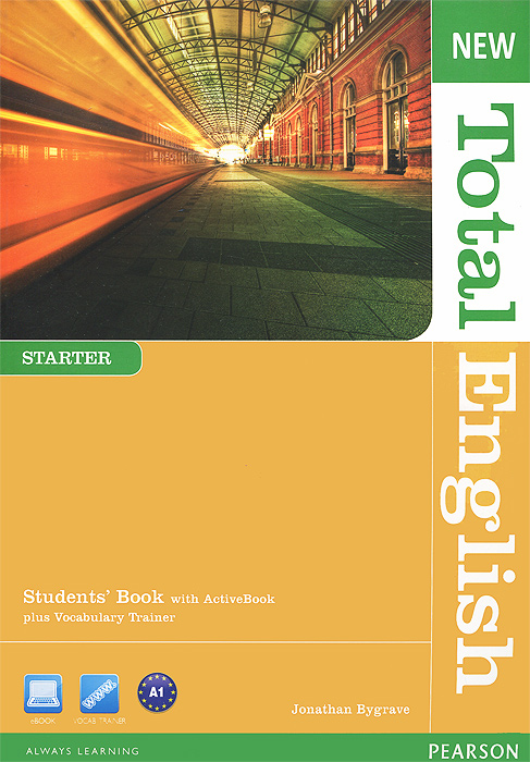 New Total English: Starter: Student's Book (+ DVD-ROM) cunningham s new cutting edge intermediate students book cd rom with video mini dictionary