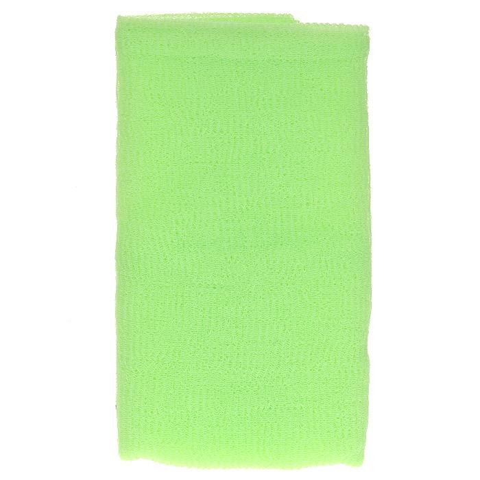 Ohe Мочалка для тела, массажная, жесткая, цвет: зеленый