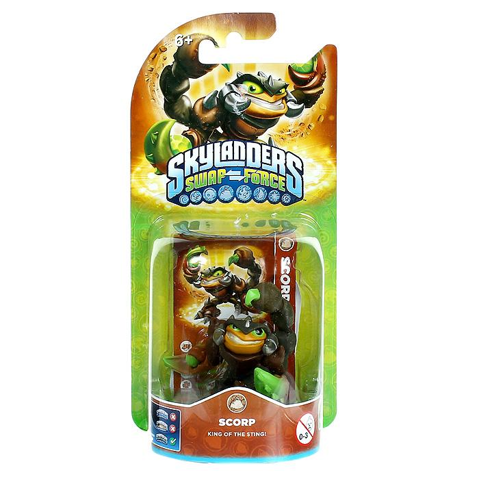Skylanders Swap Force. Интерактивная фигурка Scorp цена