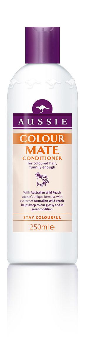 Aussie Бальзам-кондиционер Colour Mate, для окрашенных волос, 250 мл81446440Окрашенные волосы яркие, как и ты сама!Говорят, ничто не может длиться вечно, но мы считаем, что окрашенные волосы должны как можно дольше не терять яркости и лучезарного блеска.Aussie Colour Mate помогает защитить волосы от повреждений при окрашивании, сохраняет их живыми и соблазнительно яркими. Для этого в нем содержится целый ряд ценных ингредиентов, в том числе и экстракт Австралийского дикого персика, защитные свойства которого были известны еще австралийским аборигенам. А уж они-то кое-что понимали в том, как защитить свои волосы, даже если до ближайшей тени десятки километров.- Бальзам-ополаскиватель Aussie Colour Mate с экстрактом австралийского дикого персика защищает волосы и сохраняет их цвет насыщенным, соблазнительно ярким.Способ применения: Нанесите на влажные чистые волосы после шампуня Aussie Colour Mate. Промойте теплой водой... Наслаждайтесь живыми и соблазнительно яркими волосами. Состав: Aqua, Cetearyl Alcohol, Cetyl Ethers, Behentrimomium Chloride, Linoleamidopropyl Pg-Dimonium Chloride Phosphate, Guar Hydroxypropyltrimonium Chloride, Parfum, Dmdm Hydantoln, Methylparaben, Hydrolyzed Wheat Protein, Hydrolyzed Wheat Starch, Stearamid0Pr0Pyl Dimethylamine, Limonene, Llnalool, Propylene Glycol, Eucalyptus Globulus, Citric Acid, Paraffinum Liquidum, Persea Gratissma, Santalum Acuminatum, Phenoxyethanol, Polysorbate 20 , Ethylparaben, Butylparaben, Isobutylparaben, Propylparaben, Potassium Sorbate. Товар сертифицирован.