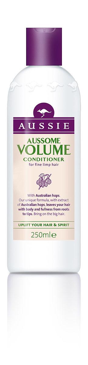 Aussie Бальзам-кондиционер Aussome Volume, для тонких волос, 250 мл aussie бальзам ополаскиватель mega instant для ежедневного использования 250 мл