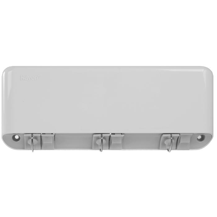 Сушилка для белья Rayen, навесная, 3 струны37003195Сушилка для белья Rayen - удобная и функциональная вещь. Идеально подходит для ванных комнат и балконов, но Вы можете ее установить в любом удобном для Вас месте. Сушилка крепится к стене, имеет 3 горизонтально расположенных веревки длиной по 5 метра каждая.Сушилка легко монтируется с помощью дюбелей и шурупов (прилагаются в комплект). Сушилка имеет автоматическую обратную намотку веревок на барабан сушилки. Характеристики: Материал: пластмасса. Размер сушилки: 28 см х 11,5 см х 4 см. Количество струн: 3 шт. Длина струны: 5 м. Размер упаковки: 29 см х 12 см х 4 см.Производитель: Испания. Артикул: 37003195.