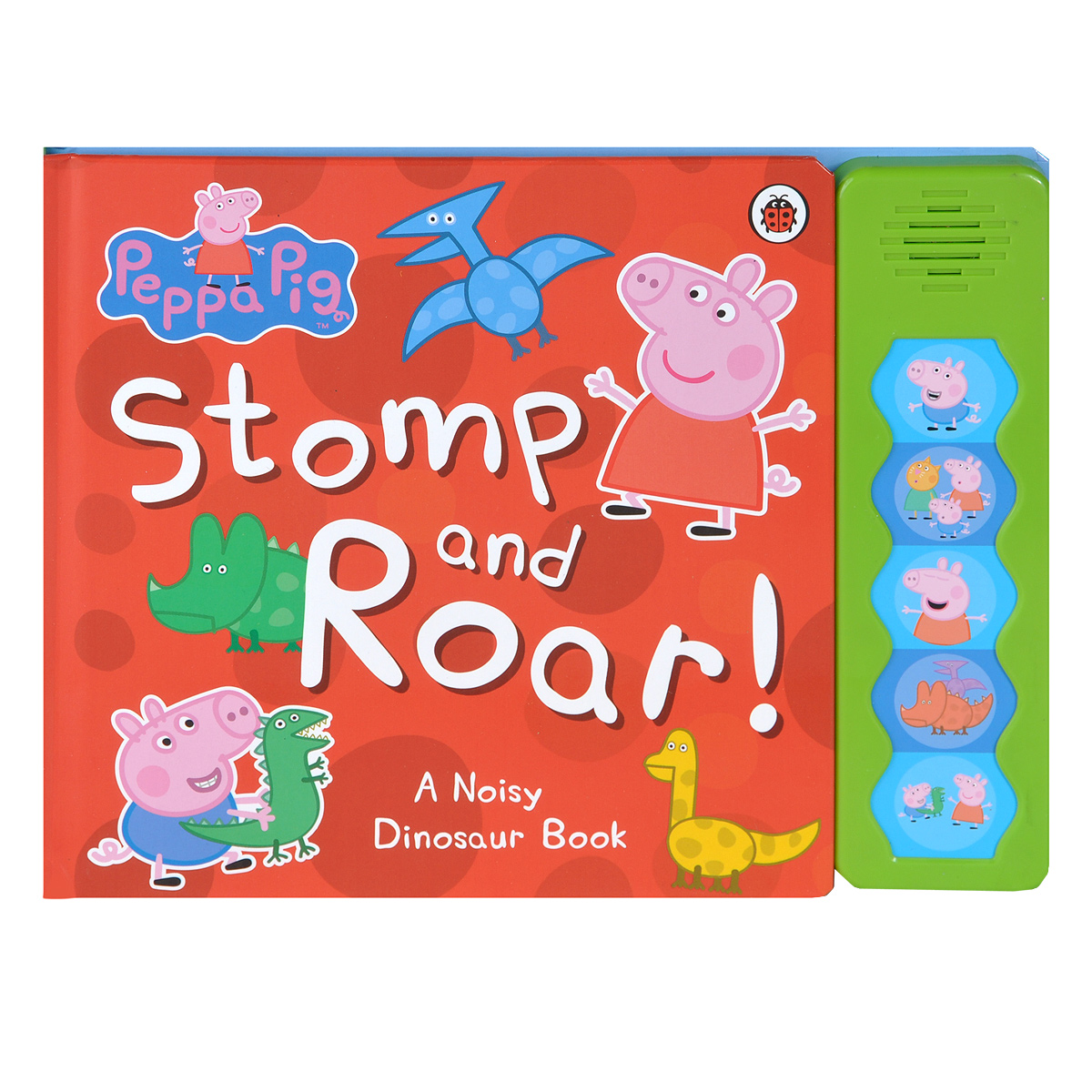 Peppa Pig: Stomp and Roar! Книжка-игрушка chris wormell george and the dragon