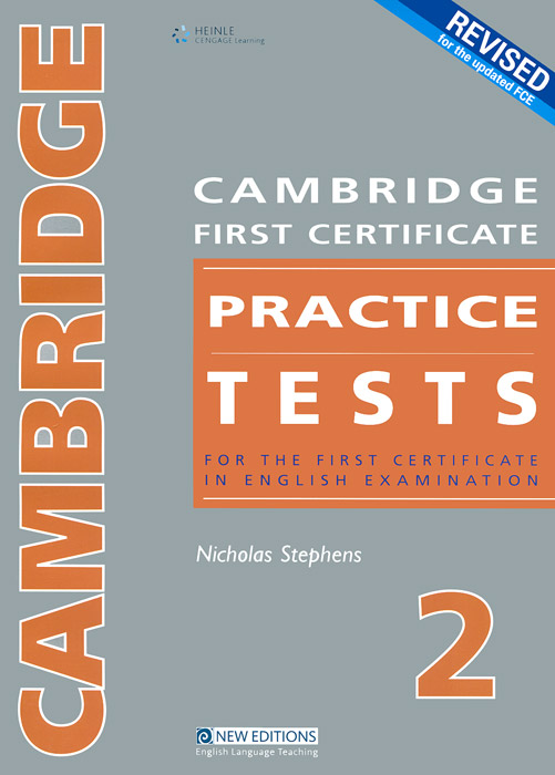 Cambridge First Certificate Practice Tests 2: Teacher's Book