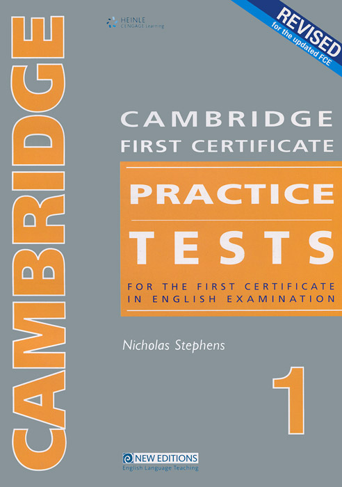 Cambridge First Certificate Practice Tests 1: Teacher's Book jones l new progress to first certificate student s book
