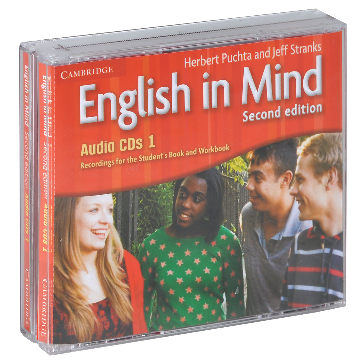 English in Mind: Level 1 (аудиокурс на 3 CD) english world workbook level 8 cd