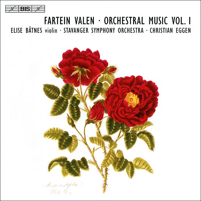 Элиза Бахер,Stavanger Symphony Orchestra,Христианская Эгген Fartein Valen. Orchestral Music Vol. 1