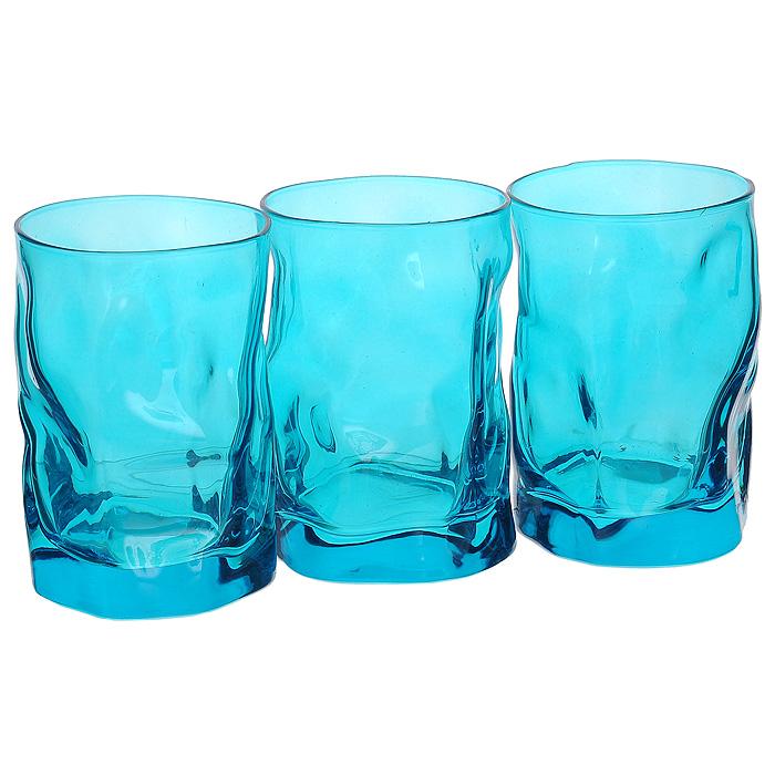 Набор стаканов Bormioli Rocco Sorgente, цвет: голубой, 3 штB340420BНабор Bormioli Rocco Sorgente включает в себя три стакана, изготовленных из высококачественного стекла насыщенного голубого цвета. Стаканы выполнены в оригинальном элегантном дизайне, из рельефного стекла. Благодаря такому набору пить напитки будет еще вкуснее.Набор Bormioli Rocco Sorgente может стать отличным подарком к любому празднику. Характеристики:Материал: стекло. Цвет: голубой. Диаметр стакана по верхнему краю: 7 см. Высота стакана: 10,5 см. Объем стакана: 300 мл. Комплектация: 3 шт. Изготовитель: Италия. Артикул: B340420B.