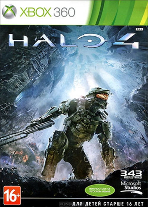 Halo 4 (Xbox 360) halo 4 game of year edition xbox 360