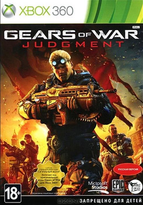 все цены на Gears of War: Judgment (Xbox 360)
