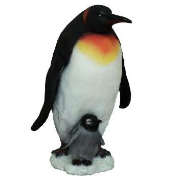 Фигурка декоративная Пингвин с пингвиненком, высота 45 см. П-006П-006Декоративная фигурка Пингвин с пингвиненком, выполненная из полистоуна, - это долговечное и износостойкое изделие, которое не потеряет яркости красок и четкости форм даже после длительной эксплуатации. Садовые фигурки и украшения, изготовленные из данной модификации искусственного камня, отличаются прочностью, красотой и стойкостью к любым негативным климатическим воздействиям. Данная фигурка может выступать в качестве красивого и оригинального сувенира для друзей и близких.Дом, украшенный оригинальными фигурками, приобретает свою индивидуальность, свой характер. Неожиданные и оригинальные декоративные фигурки - это самый простой и доступный способ сделать дом, дачу или приусадебную территорию неповторимыми. Характеристики: Материал: полистоун. Размер фигурки (В х Ш х Д): 45 см х 25 см х 30 см. Размер упаковки: 49 см х 46 см х 35 см. Артикул: П-006.