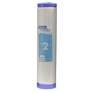 Сменный картридж Барьер Профи BB 20 СмягчениеР531Р00Сменный картридж Барьер Профи BB 20 Смягчение применяется для снижения жесткости воды. Применение технологии byPass позволяет увеличить ресурс фильтроэлемента и избежать побочного эффекта гиперумягчения питьевой воды в начале ресурса. Может использоваться в водоочистителе Барьер Профи bb 20 и в других водоочистителях с корпусами стандарта Big Blue 20.Устанавливается во вторую ступень системы водоочистки. Характеристики: Материал: прессованный активированный кокосовый угль. Размер фильтра: 11 см х 11 см х 51 см. Тонкость фильтрации: 10 мкм. Температура очищаемой воды: от +5°С до +35°С. Размер упаковки: 11 см х 11 см х 51 см. Производитель: Россия.