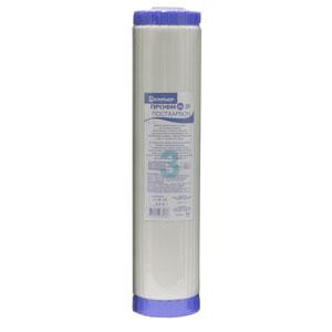 Сменный картридж Барьер Профи BB 20 ПосткарбонР551Р00Сменный картридж Барьер Профи BB 20 Посткарбон выпускается для высокопроизводительных водоочистителей стандарта Big Blue 20 дюймов. Эффективная доочистка от железа, ионов тяжелых и токсичных металлов. Стабилизация воды - предотвращает рост бактерий.Кондиционирование воды - устраняет неприятные запаха. Устанавливается в последнюю ступень систем водоочистки. Использован высококачественный пищевой пластик, допущенный для контакта с питьевой водой Характеристики: Материал: ионообменное волокно, активированный уголь. Размер фильтра: 51 см х 11,5 см. Температура очищаемой воды: от +5°С до +35°С. Размер упаковки: 51 см х 11,5 см х 11,5 см. Производитель: Россия.