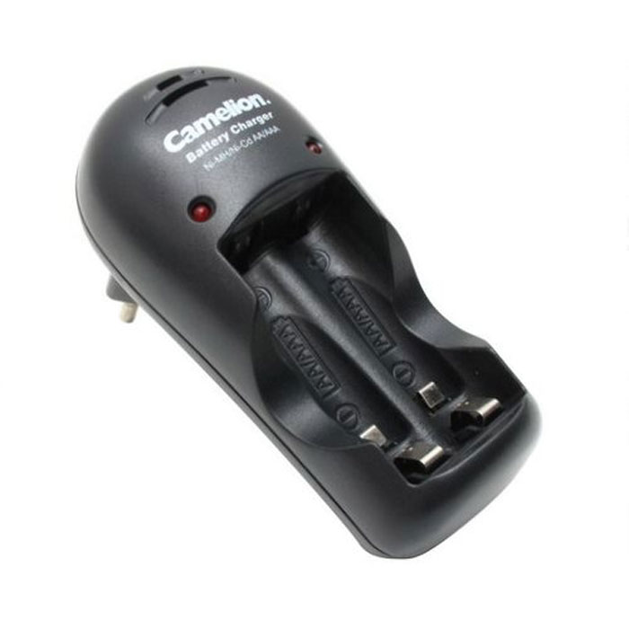Camelion BC-1009 ЗУ для 1-2AA/AAA, 150мА9252Быстрое зарядное устройство Camelion BC-1009 ЗУ для аккумуляторов типа АА и ААА.