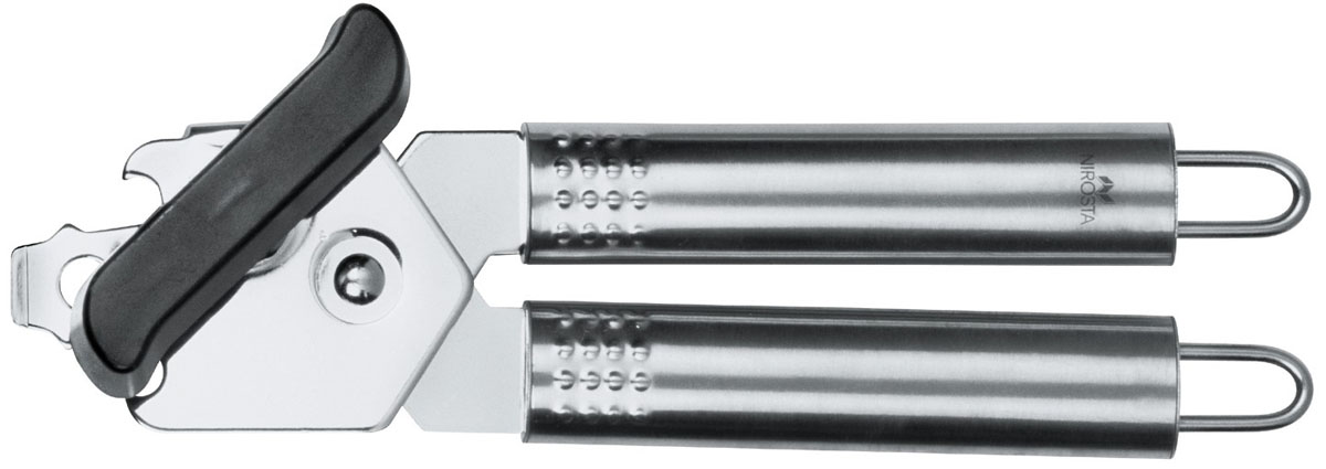 Открывалка для банок Nirosta40446Открывалка для банок Fackelmann Nirosta будет отличным помощником на вашей кухне. Она изготовлена из высококачественной стали и пластика. Открывалка имеет удобные ручки, которые не ей выскользнуть из рук. Благодаря такой открывалке вы с легкостью сможете открыть консервированные банки. Характеристики: Размер вышивки:нержавеющая сталь, пластик. Длина:21 см. Размер упаковки:21 см х 5 см х 6 см. Артикул:40446.