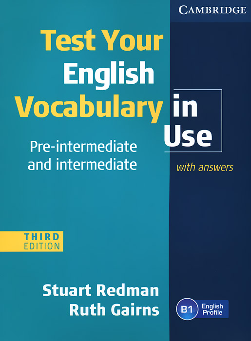 Test Your English Vocabulary in Use: Pre-intermediate and Intermediate english vocabulary in use elementary classware