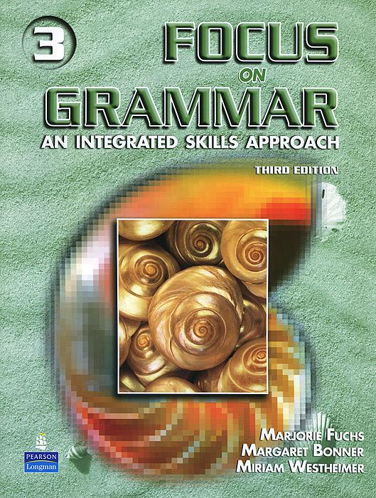 Focus on Grammar: An Integrated Skills Approach (+ CD) нож универсальный tescoma presto tone с чехлом цвет красный длина лезвия 12 см