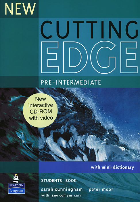 New Cutting Edge: Pre-Intermediate: Students Book with Mini-Dictionary (+ CD-ROM) ice edge mini fs v2 deepcool