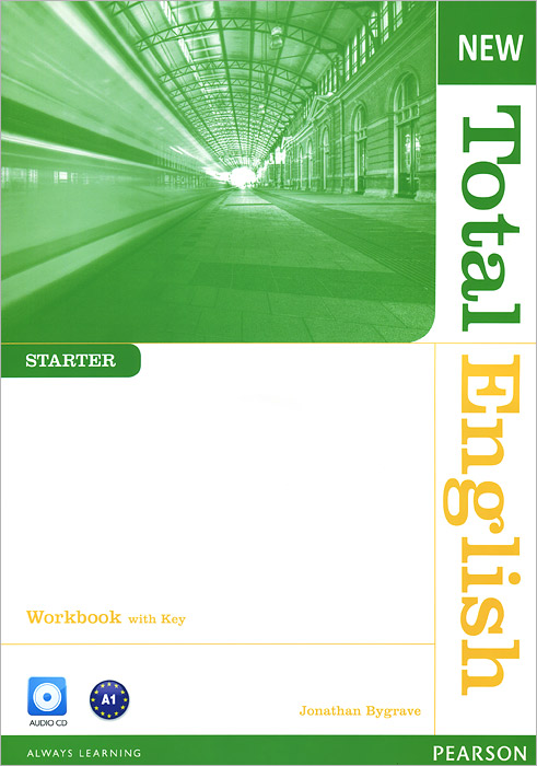 New Total English: Starter: Workbook with Key (+ CD)