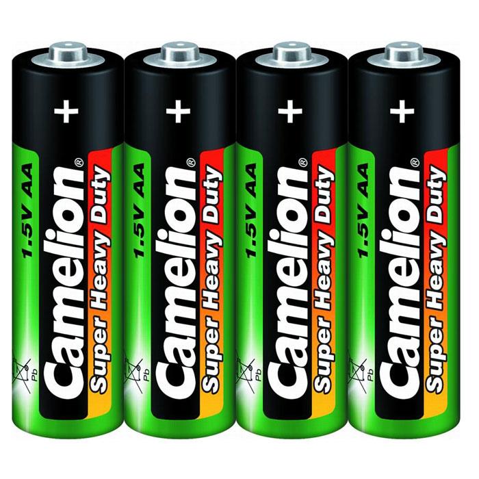 Camelion R6 SR-4 (R6P-SP4G) батарейки 1.5В, 4 шт