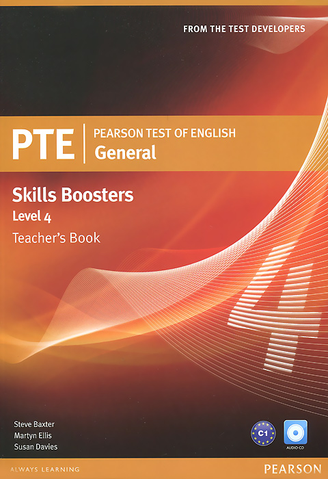 Pearson Test of English General Skills Booster 4: Teacher's Book (+ 2 CD) pte 300vp