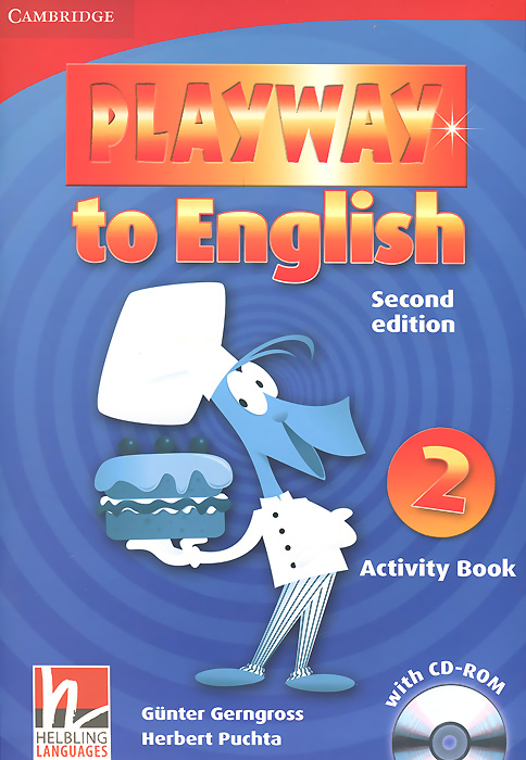 Playway to English: Level 2: Activity Book (+ CD-ROM) caseguru для huawei ascend g 630