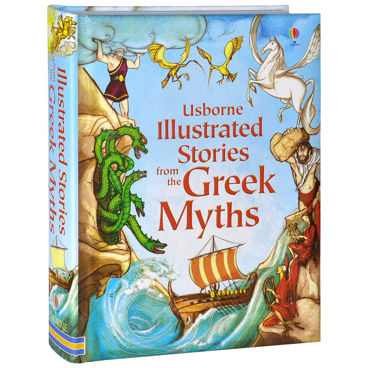 Illustrated Stories from the Greek Myths illustrated norse myths