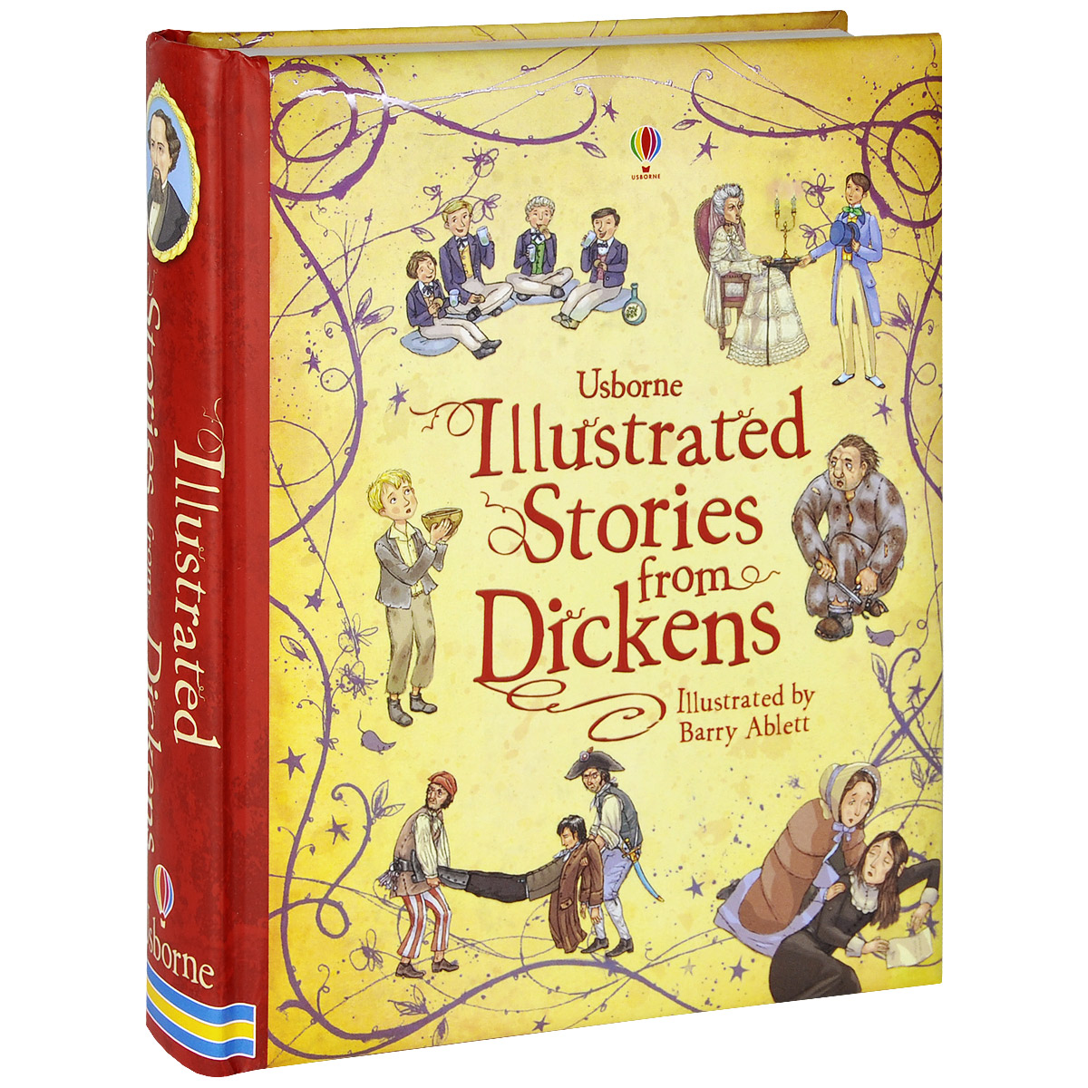 Illustrated Stories from Dickens dickens c a message from the sea