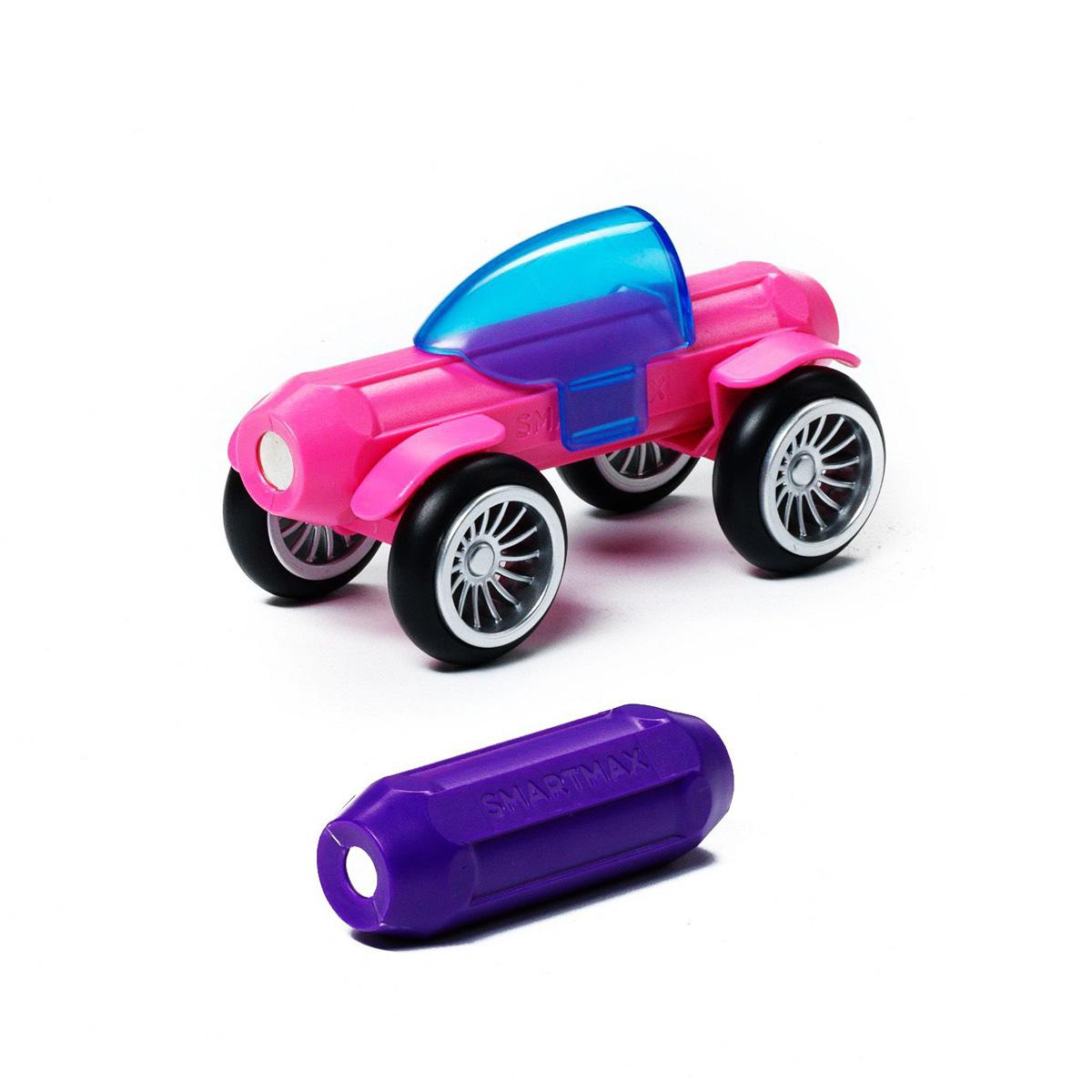 Bondibon SmartmaxКонструктор магнитный Специальный набор Розовый и фиолетовый