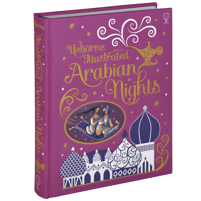 Illustrated Arabian Nights алексеева л ред aladdin and the magic lamp