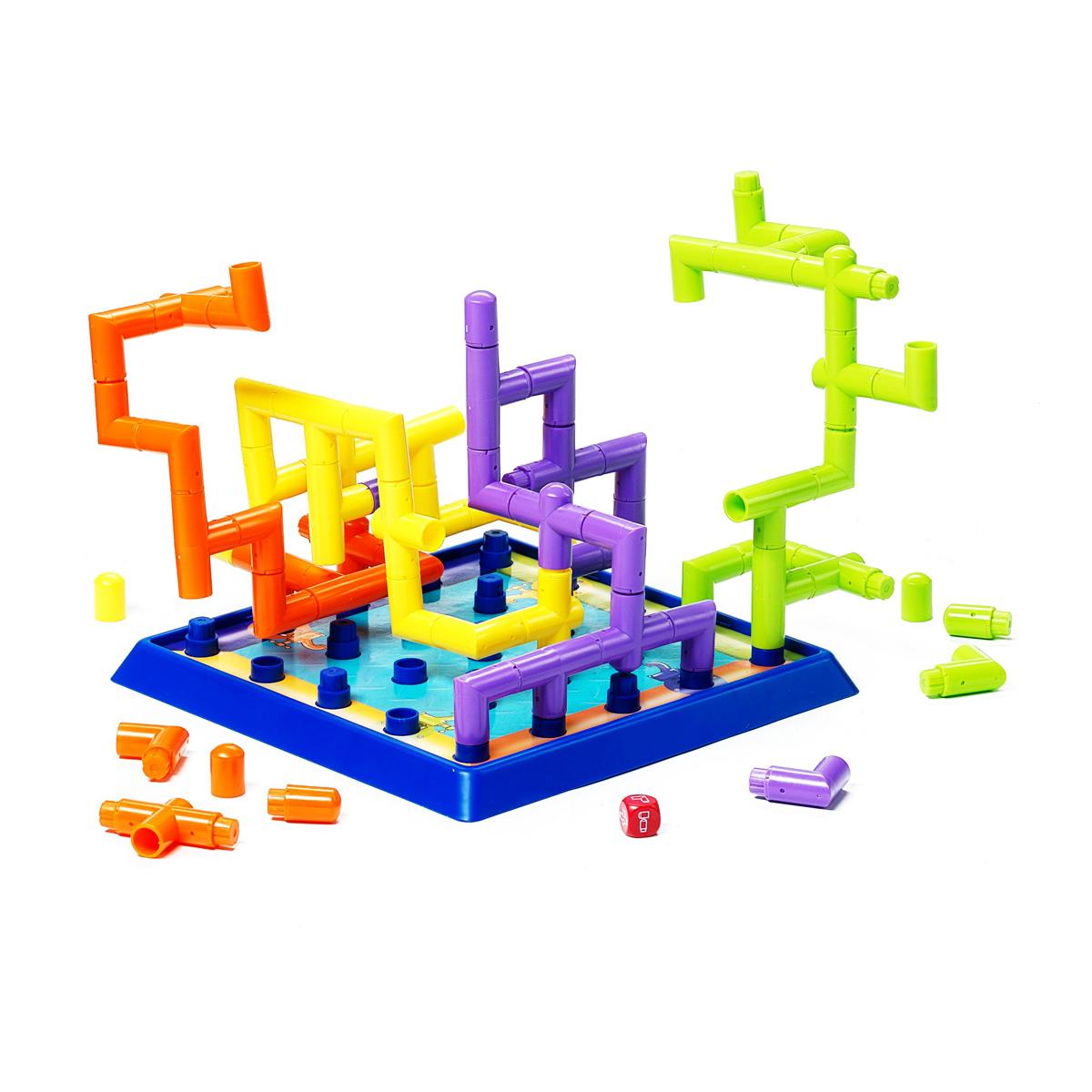 Bondibon Обучающая игра Магистраль настольная игра bondibon магистраль 3д игра арт 1318