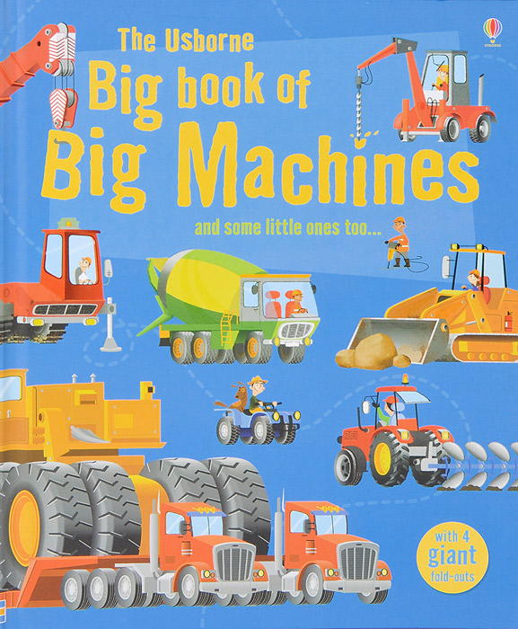 The Usborne Big Book of Big Machines the biggest smallest christmas present