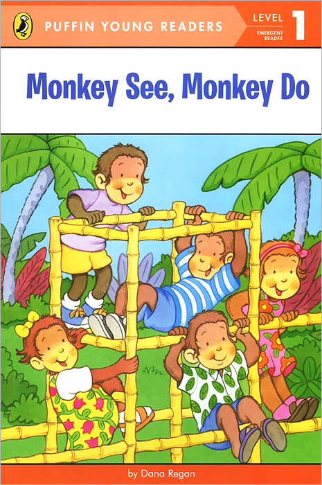 Купить Monkey See, Monkey Do: Level 1: Emergent Reader,