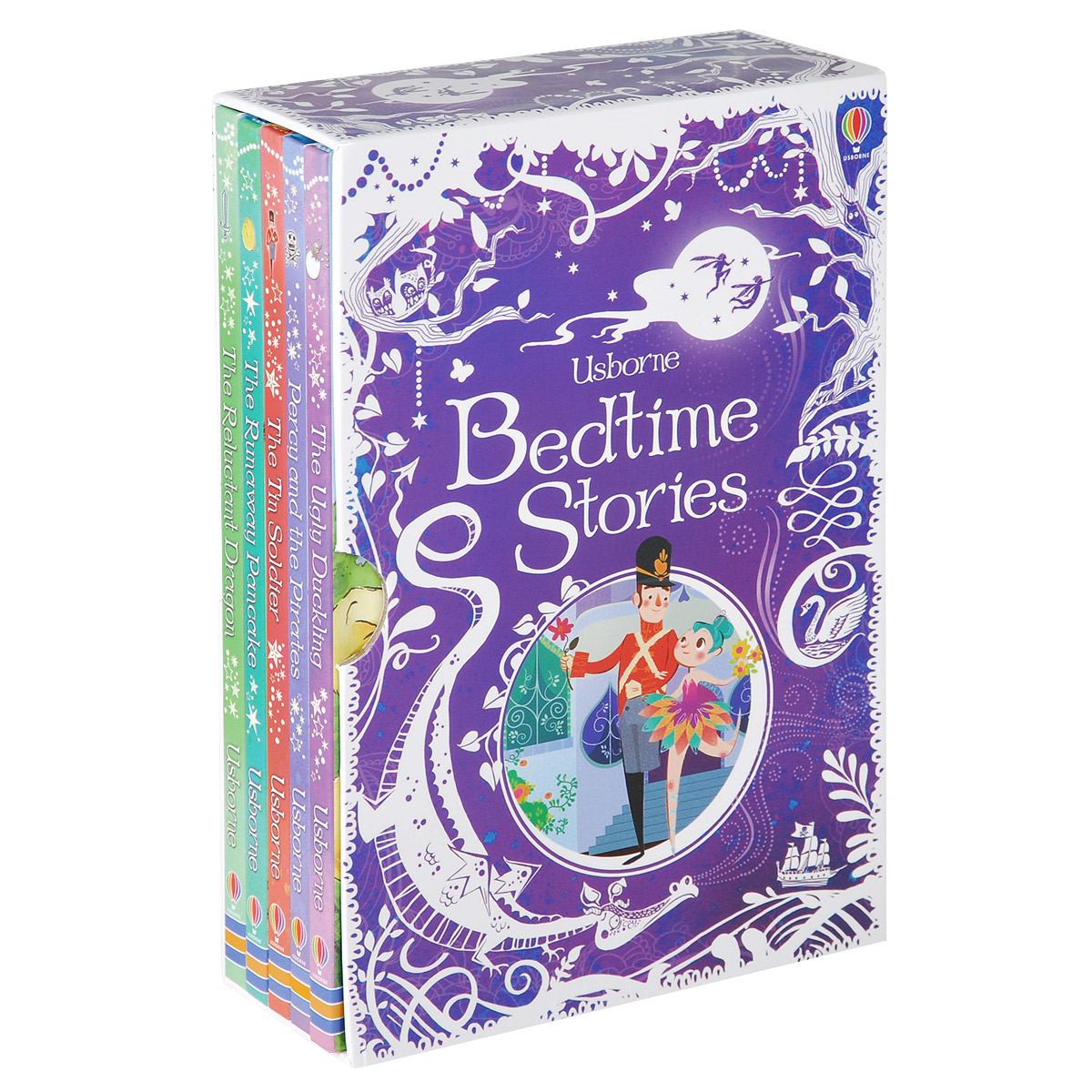 Usborne Bedtime Stories (комплект из 5 книг)