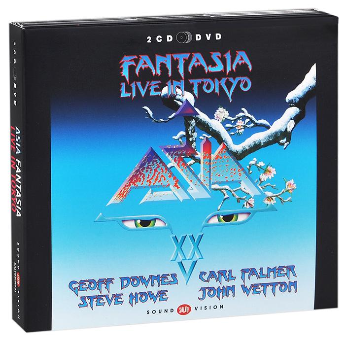 Asia Asia. Fantasia. Live In Tokyo (2 CD + DVD) музыка cd dvd the moment 2cd