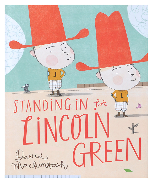 Standing in for Lincoln Green standing in for lincoln green