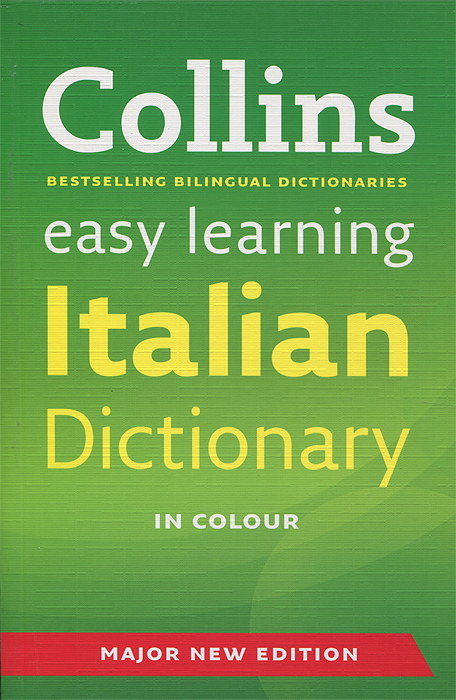 Collins Easy Learning Italian Dictionary the comedy of errors