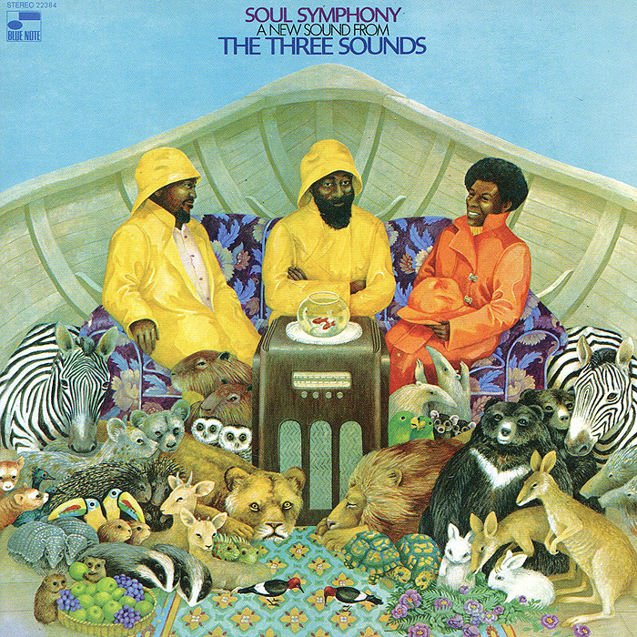 The Three Sounds.  Soul Symphony Blue Note Records,ООО