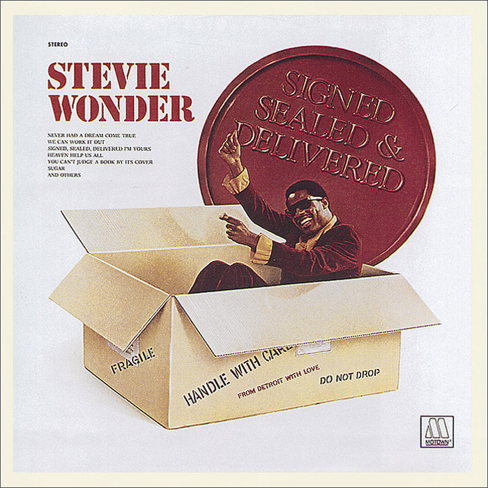 Стиви Уандер Stevie Wonder. Signed, Sealed And Delivered стиви уандер stevie wonder the definitive collection